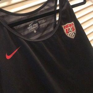 USA Nike pro sports top